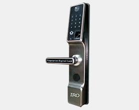 远程可视指纹密码锁